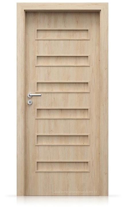 Interiérové dveře Porta FIT F.0 Portaperfect 3D BUK SKANDINÁVSKÝ