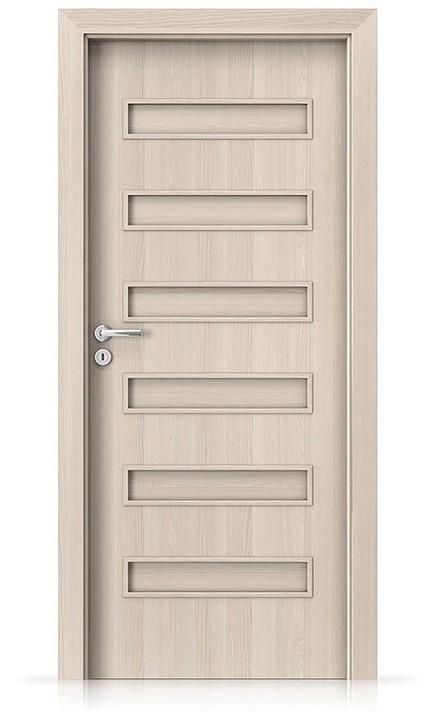 Interiérové dveře Porta FIT F.0 Laminát CPL HQ OŘECH BĚLENÝ