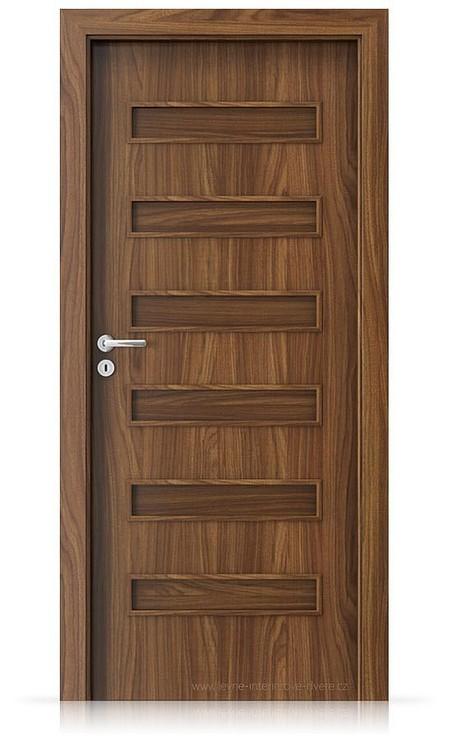 Interiérové dveře Porta FIT F.0 Laminát CPL HQ OŘECH MODENA 1