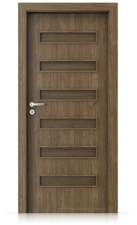 Interiérové dveře Porta FIT F.0 Laminát CPL HQ OŘECH PŘÍRODNÍ