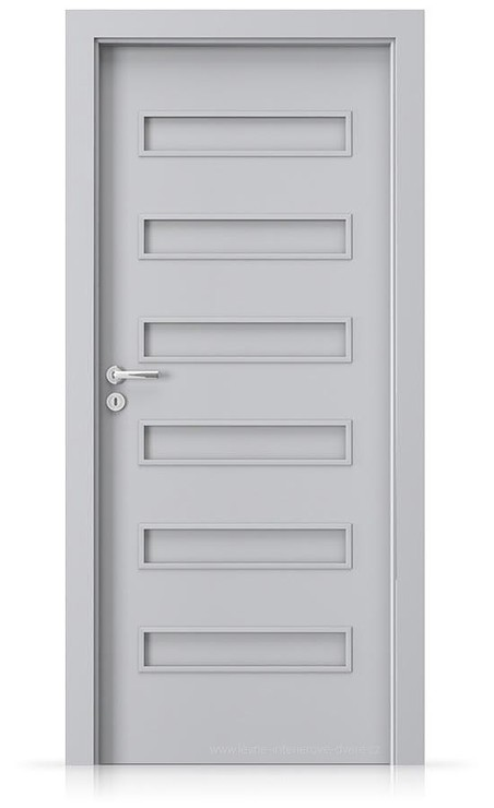 Interiérové dveře Porta FIT F.0 Laminát CPL HQ ŠEDÁ