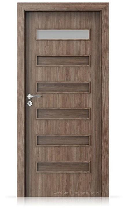 Interiérové dveře Porta FIT F.1 Portadecor OŘECH VERONA 2