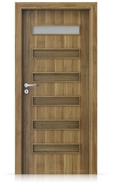 Interiérové dveře Porta FIT F.1 Portasynchro 3D AKÁT MEDOVÝ