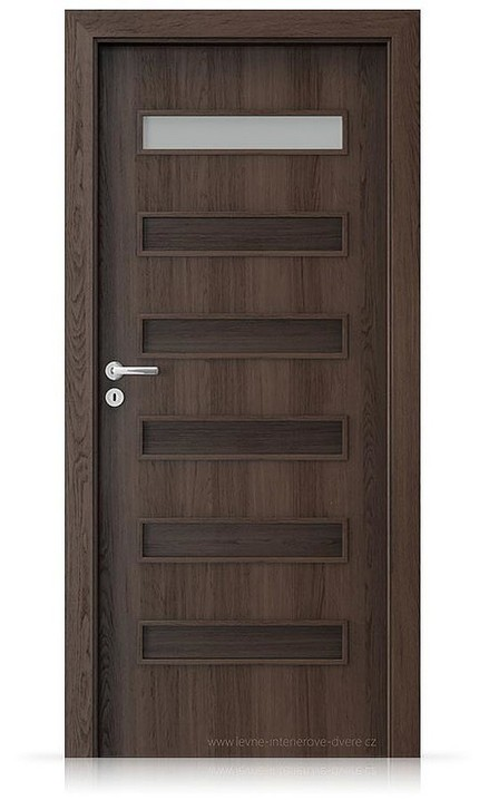 Interiérové dveře Porta FIT F.1 Portaperfect 3D DUB HAVANA