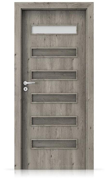 Interiérové dveře Porta FIT F.1 Portaperfect 3D DUB SIBIŘSKÝ