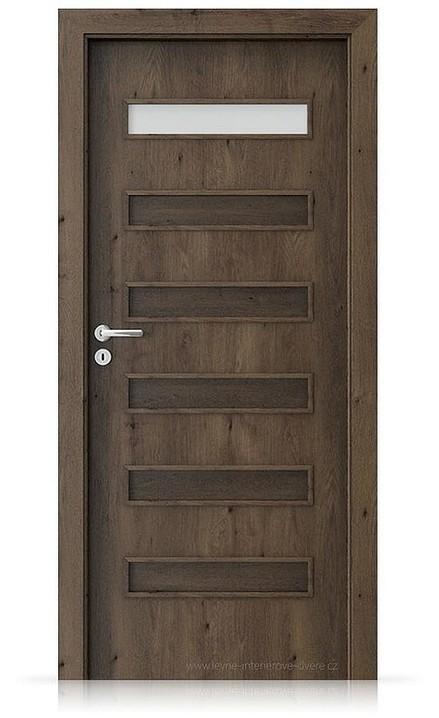 Interiérové dveře Porta FIT F.1 Portaperfect 3D DUB JIŽNÍ