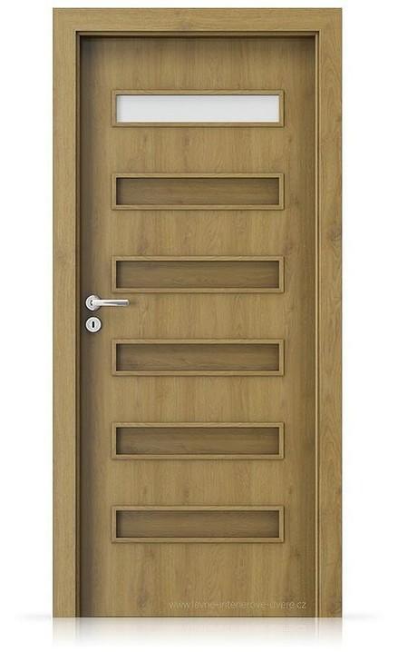 Interiérové dveře Porta FIT F.1 Portaperfect 3D DUB PŘÍRODNÍ