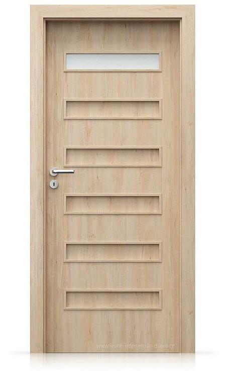 Interiérové dveře Porta FIT F.1 Portaperfect 3D BUK SKANDINÁVSKÝ