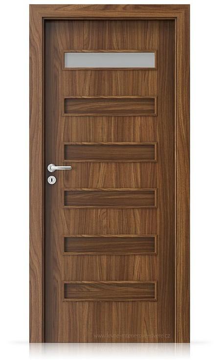 Interiérové dveře Porta FIT F.1 Laminát CPL HQ OŘECH MODENA 1