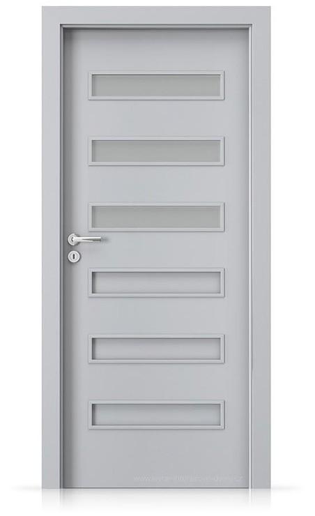 Interiérové dveře Porta FIT F.1 Laminát CPL HQ ŠEDÁ