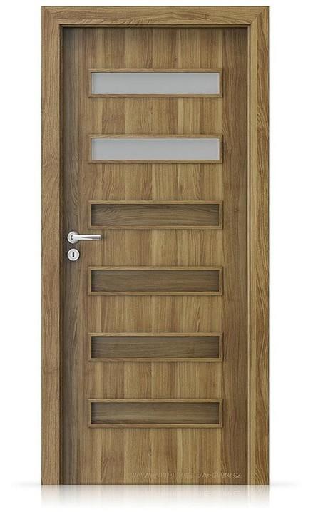 Interiérové dveře Porta FIT F.2 Portasynchro 3D AKÁT MEDOVÝ