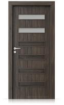 Interiérové dveře Porta FIT F.2 Portasynchro 3D DUB TMAVÝ