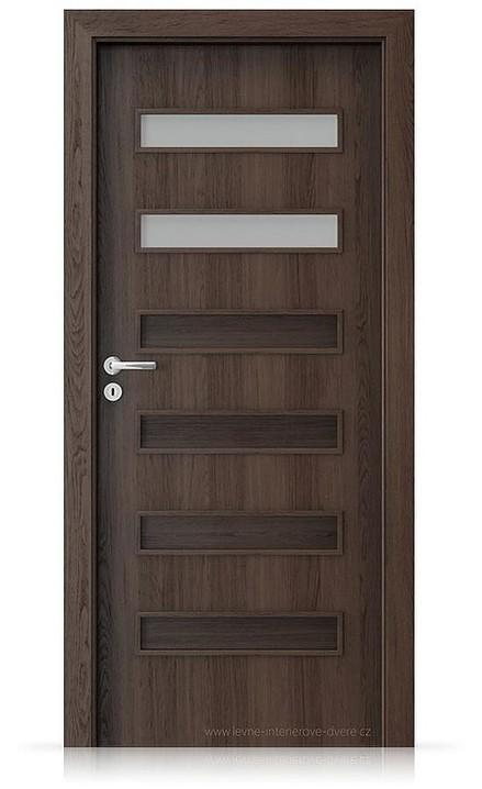 Interiérové dveře Porta FIT F.2 Portaperfect 3D DUB HAVANA