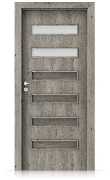 Interiérové dveře Porta FIT F.2 Portaperfect 3D DUB SIBIŘSKÝ