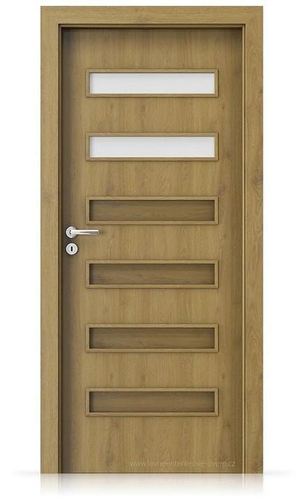 Interiérové dveře Porta FIT F.2 Portaperfect 3D DUB PŘÍRODNÍ