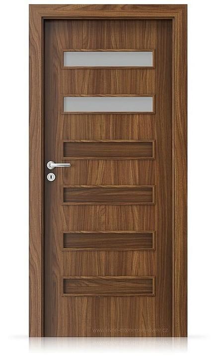 Interiérové dveře Porta FIT F.2 Laminát CPL HQ OŘECH MODENA 1