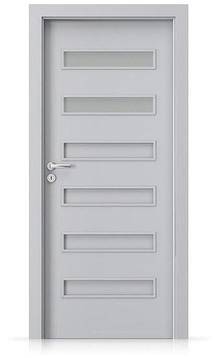 Interiérové dveře Porta FIT F.2 Laminát CPL HQ ŠEDÁ