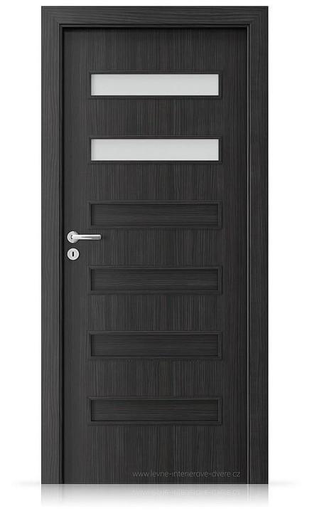 Interiérové dveře Porta FIT F.2 Laminát CPL HQ STRUKTURA TMAVÁ