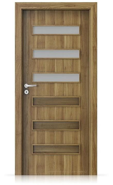 Interiérové dveře Porta FIT F.3 Portasynchro 3D AKÁT MEDOVÝ