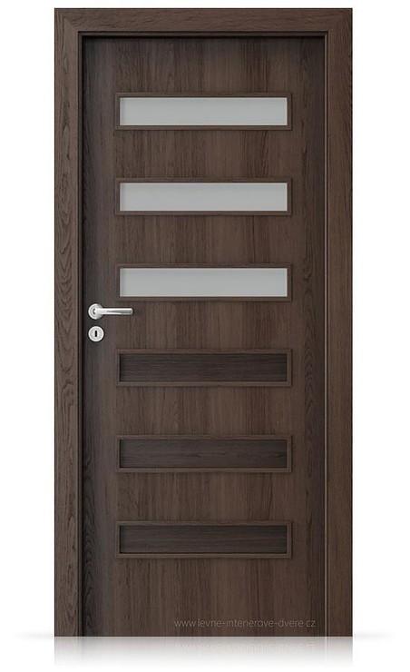 Interiérové dveře Porta FIT F.3 Portaperfect 3D DUB HAVANA