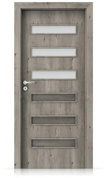 Interiérové dveře Porta FIT F.3 Portaperfect 3D DUB SIBIŘSKÝ