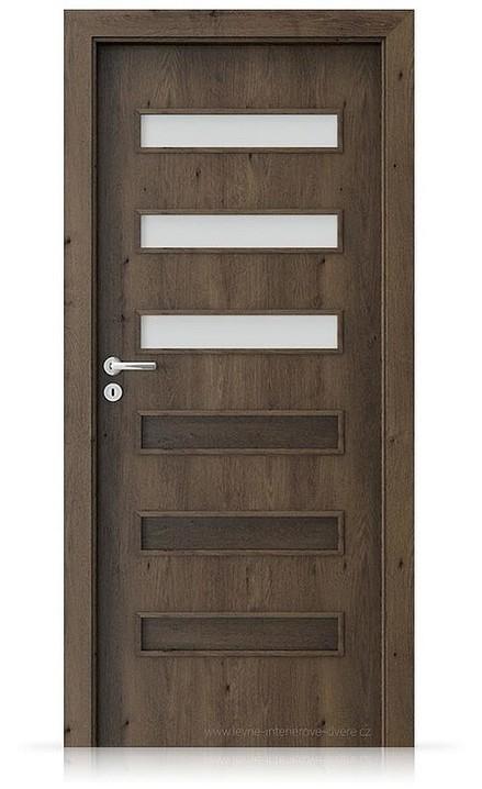 Interiérové dveře Porta FIT F.3 Portaperfect 3D DUB JIŽNÍ