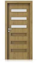 Interiérové dveře Porta FIT F.3 Portaperfect 3D DUB PŘÍRODNÍ