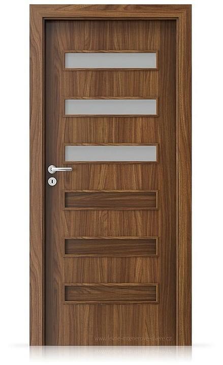 Interiérové dveře Porta FIT F.3 Laminát CPL HQ OŘECH MODENA 1