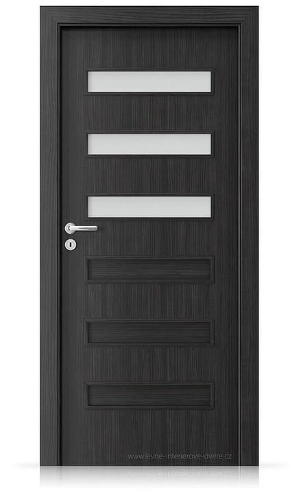 Interiérové dveře Porta FIT F.3 Laminát CPL HQ STRUKTURA TMAVÁ