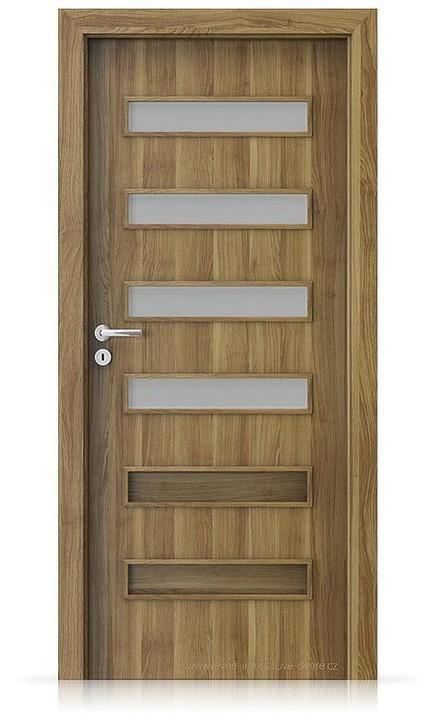 Interiérové dveře Porta FIT F.4 Portasynchro 3D AKÁT MEDOVÝ