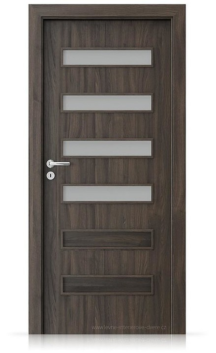 Interiérové dveře Porta FIT F.4 Portasynchro 3D DUB TMAVÝ