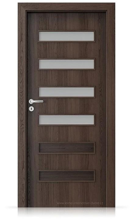 Interiérové dveře Porta FIT F.4 Portaperfect 3D DUB HAVANA