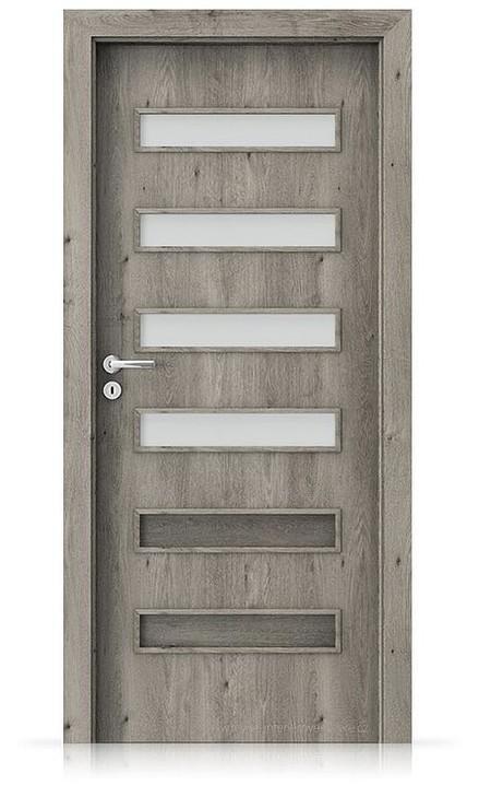Interiérové dveře Porta FIT F.4 Portaperfect 3D DUB SIBIŘSKÝ