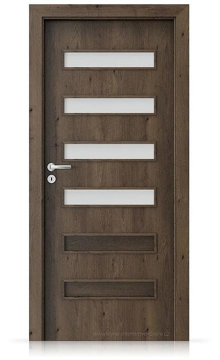 Interiérové dveře Porta FIT F.4 Portaperfect 3D DUB JIŽNÍ