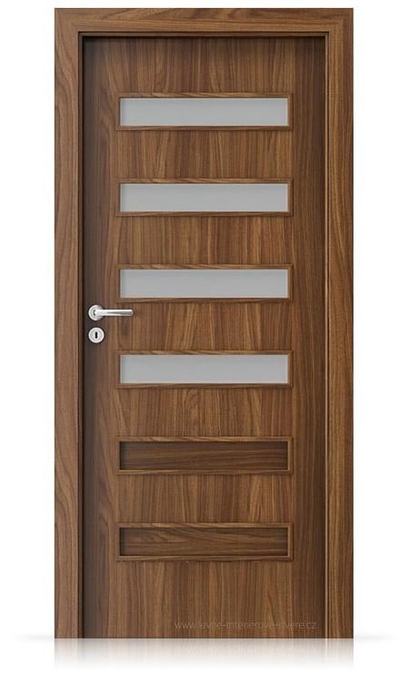Interiérové dveře Porta FIT F.4 Laminát CPL HQ OŘECH MODENA 1