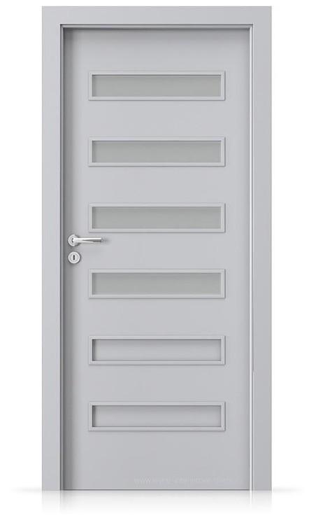 Interiérové dveře Porta FIT F.4 Laminát CPL HQ ŠEDÁ