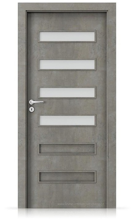 Interiérové dveře Porta FIT F.4 Laminát CPL HQ BETON SVĚTLÝ