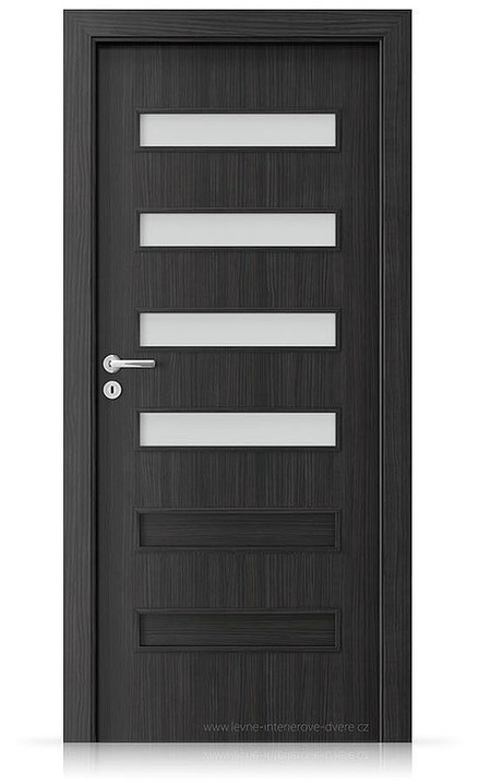 Interiérové dveře Porta FIT F.4 Laminát CPL HQ STRUKTURA TMAVÁ