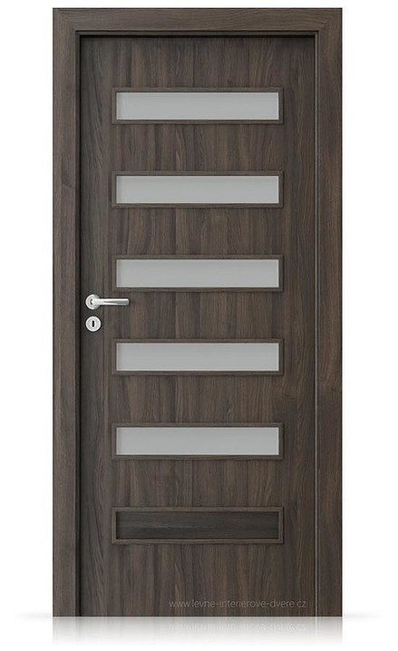 Interiérové dveře Porta FIT F.5 Portasynchro 3D DUB TMAVÝ