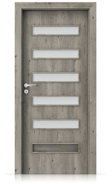 Interiérové dveře Porta FIT F.5 Portaperfect 3D DUB SIBIŘSKÝ
