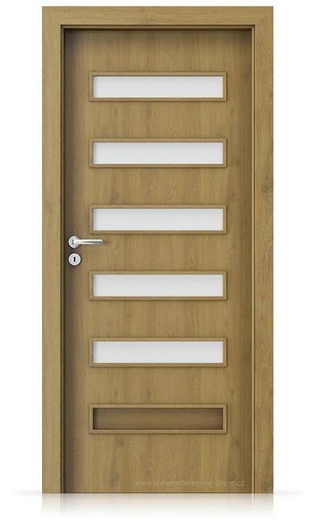 Interiérové dveře Porta FIT F.5 Portaperfect 3D DUB PŘÍRODNÍ