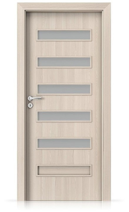 Interiérové dveře Porta FIT F.5 Laminát CPL HQ OŘECH BĚLENÝ