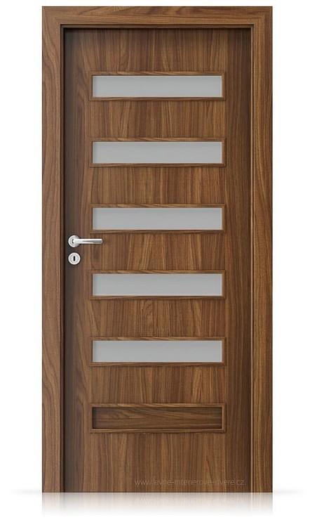 Interiérové dveře Porta FIT F.5 Laminát CPL HQ OŘECH MODENA 1