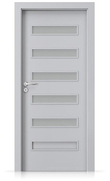 Interiérové dveře Porta FIT F.5 Laminát CPL HQ ŠEDÁ