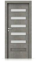 Interiérové dveře Porta FIT F.5 Laminát CPL HQ BETON SVĚTLÝ