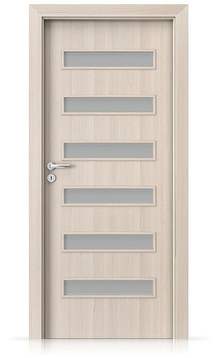 Interiérové dveře Porta FIT F.6 Portadecor OŘECH BĚLENÝ