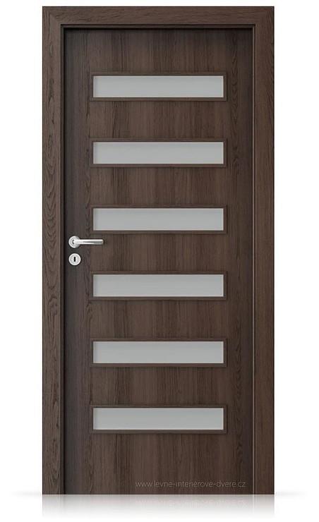 Interiérové dveře Porta FIT F.6 Portaperfect 3D DUB HAVANA