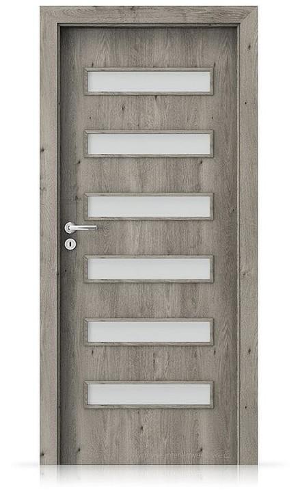Interiérové dveře Porta FIT F.6 Portaperfect 3D DUB SIBIŘSKÝ
