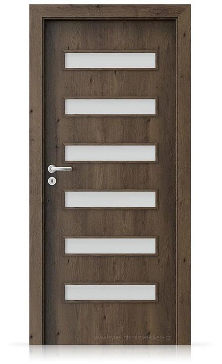 Interiérové dveře Porta FIT F.6 Portaperfect 3D DUB JIŽNÍ