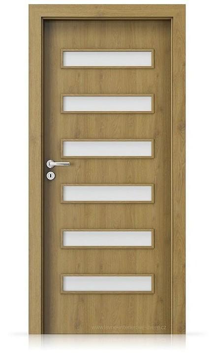 Interiérové dveře Porta FIT F.6 Portaperfect 3D DUB PŘÍRODNÍ